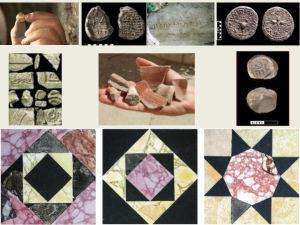 Artefatos dos períodos do Primeiro e Segundo Templos